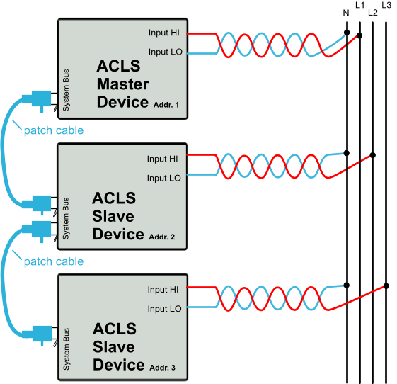 ACL Master Slave System